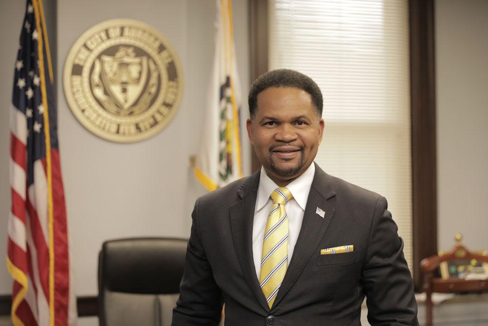Aurora Mayor Richard C. Irvin