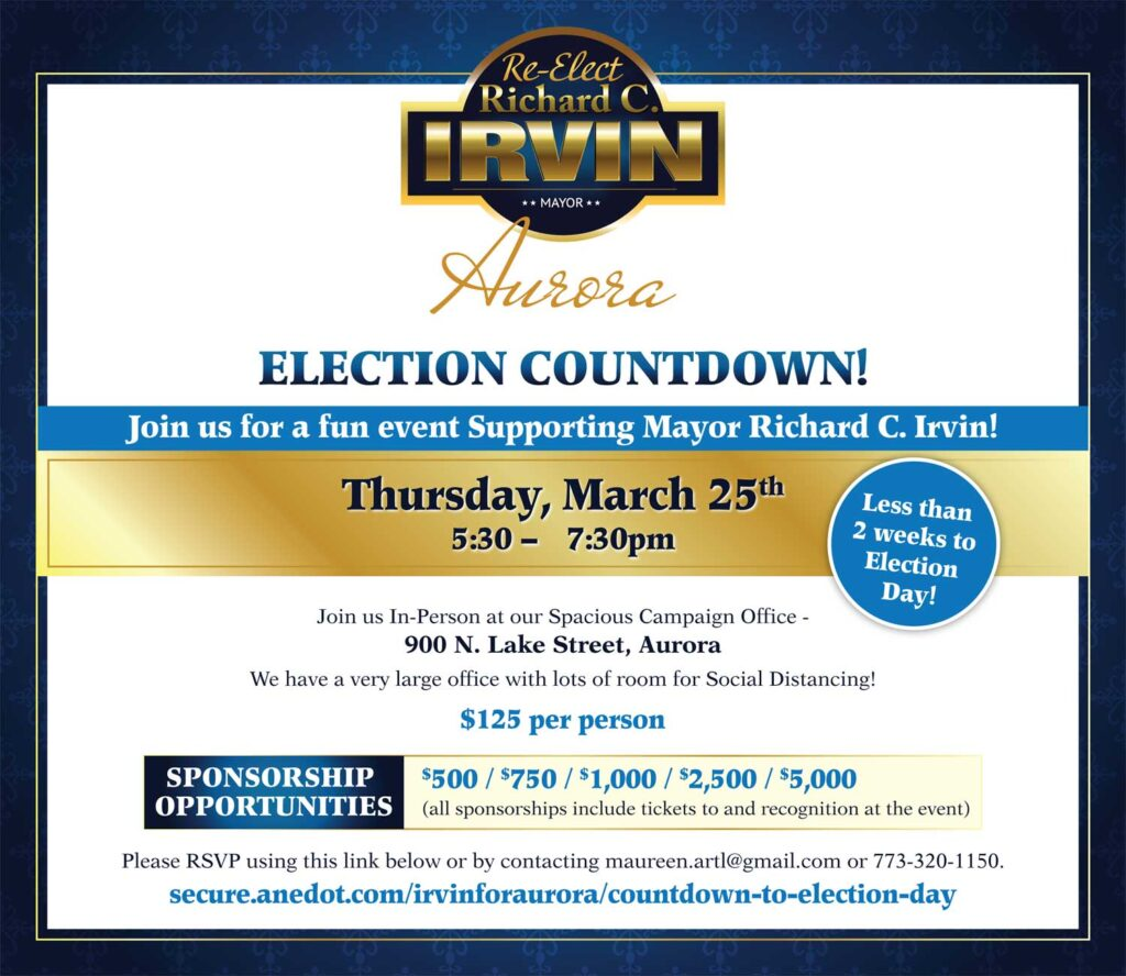 election countdown event